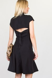 Blumarine Black Dress with Open Back / Size: 40 IT